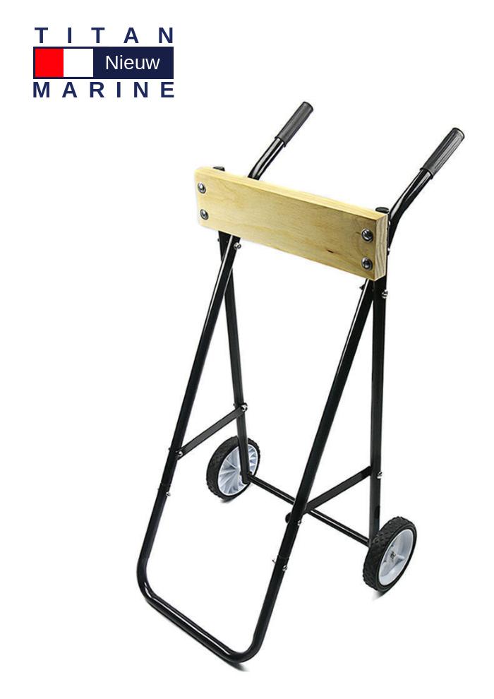 Titan Marine Outboard trolley small - Tot 40 kg - Inklapbaar
