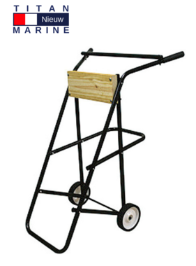 Titan Marine Outboard trolley - Large - Up to 60 kg.