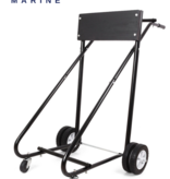 Titan Marine Outboard trolley Professional - Up to 125 kg. (The wooden support board is wood colored !!)