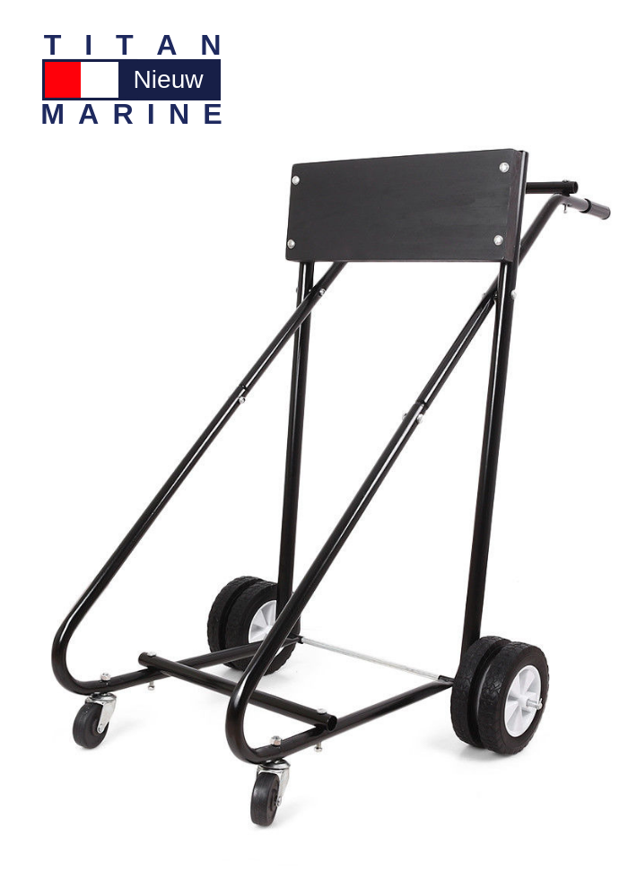 Titan Marine Outboard trolley Professional - Tot 125 kg.