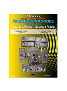 Martyr Anodes Mercury kit cm - Verado 6Kit - MG