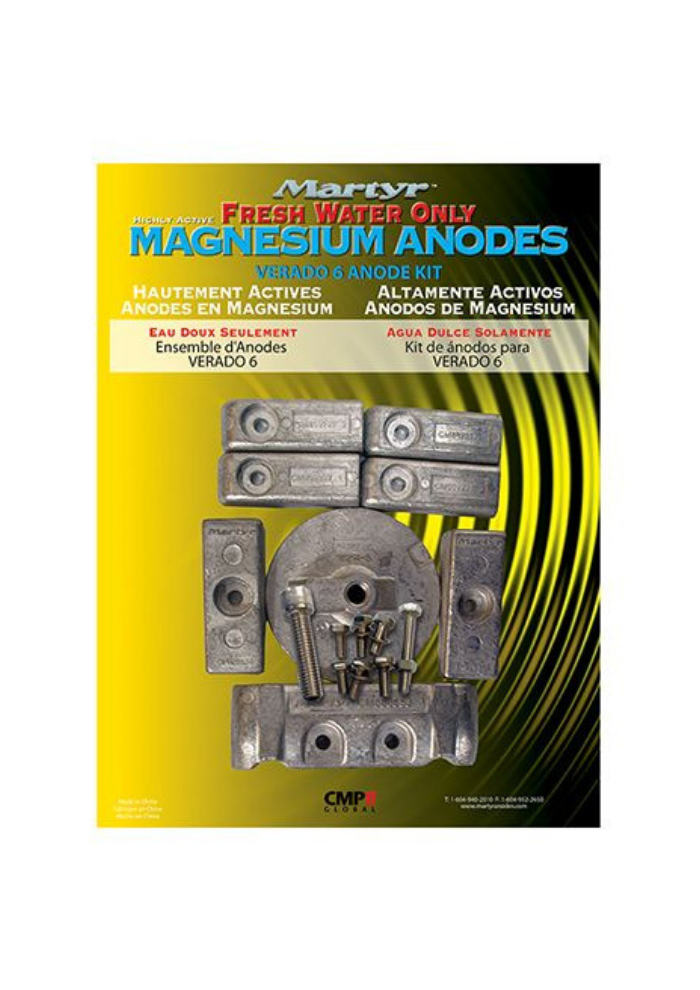 Martyr Anodes Mercury kit cm - Verado 6Kit - MG