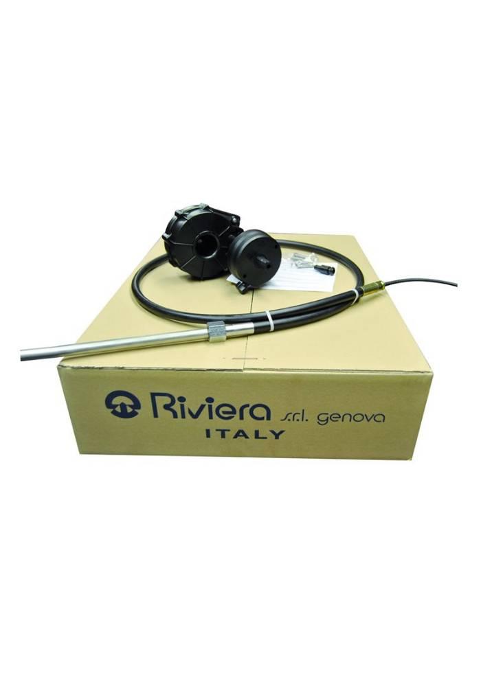 Riviera RIVIERA Stuursysteem set - Titano Serie KSG02 met stuurkabel 11 ft. / 3,35 meter