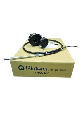 Riviera RIVIERA Stuursysteem set - Titano Serie KSG02 met stuurkabel 12 ft. / 3,66 meter