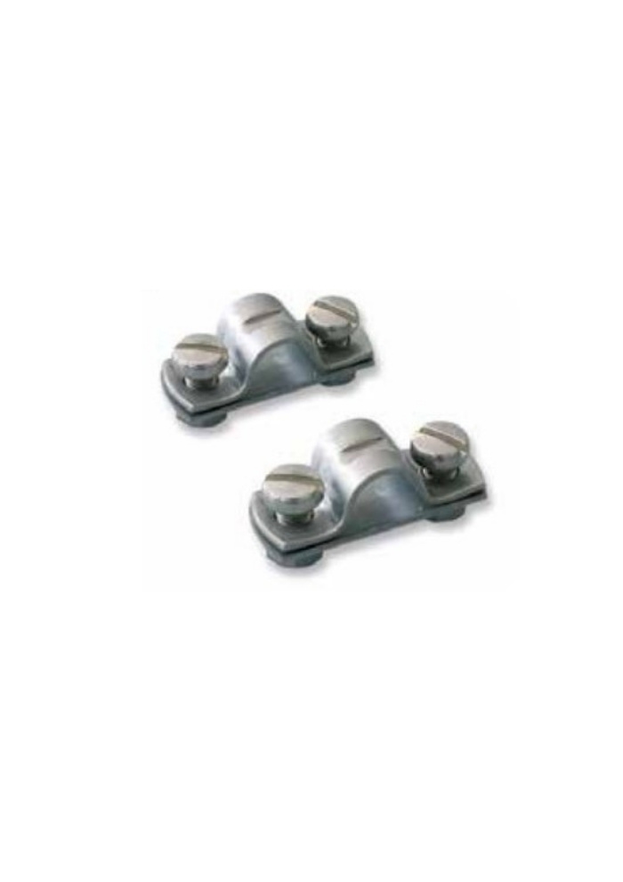 Riviera Riviera Cable stop clamp - 316 SST - 12 * 2.5 * 3.7 mm