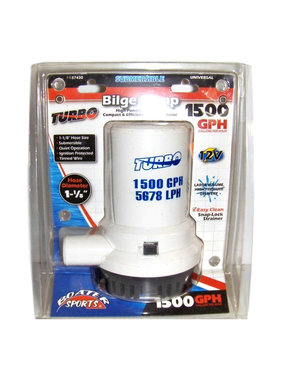 Boatersports High capacity bilgepump 1500 Gph - 12V