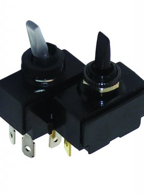 Toggle Switch - On/Off/Mom (Not Illuminated)