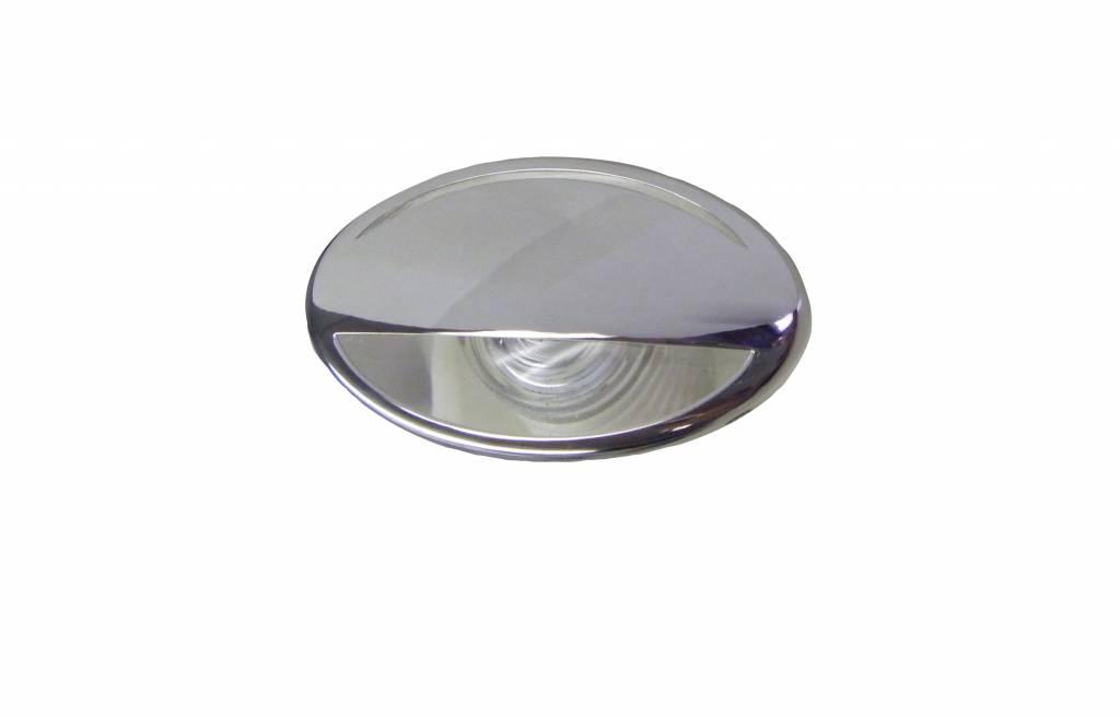 LED Licht - Courtesy - Edelstahl - Warmweiß
