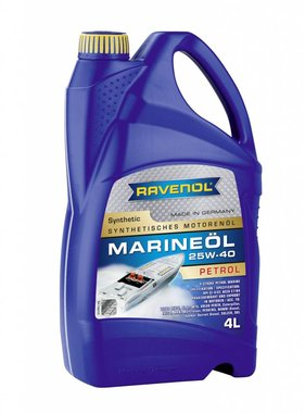 Ravenol Marine Oil Petrol 25W40 Synthetic, 4 ltr.