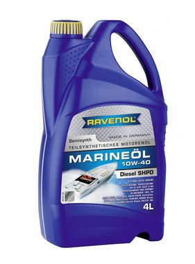 Ravenol Ravenol Marine Oil Diesel SHPD SAE 10W-40 - 4 Ltr.