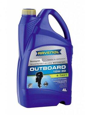 Ravenol Outboard Oil 4 stroke SAE 10W-30, 4 ltr.