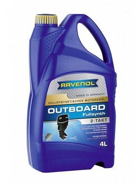 Ravenol Außenborderöl 2-Takt-Full-Synth, 4 Ltr.