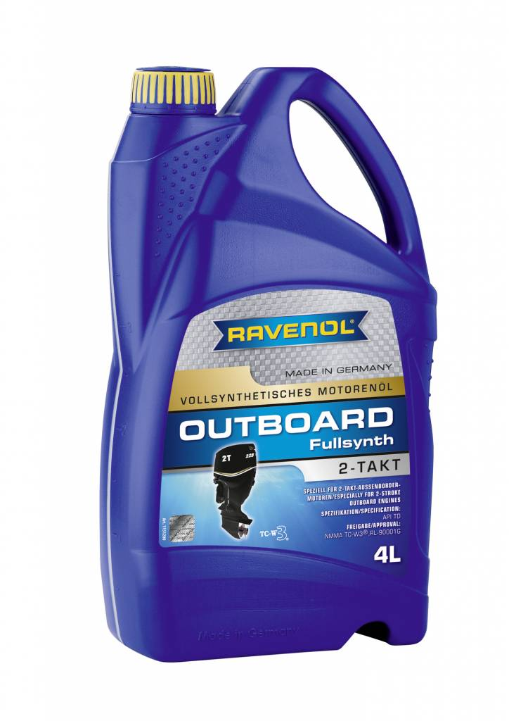 Ravenol Outboard Oil 2 stroke full-synth, 4 ltr  - Titan Marine