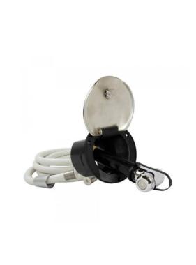ITC ITC SST Transom Shower - Nylon Hose - Brass Sprayer