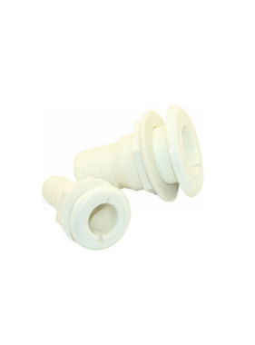 Boatersports Thru-Hull Fitting - 25 mm - Nylon