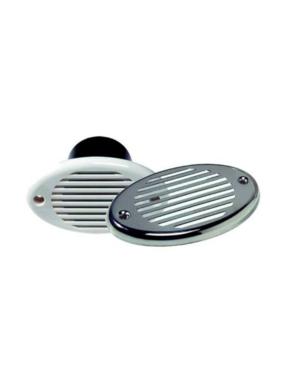 Innovative Lighting Verstecktes Signalhorn - Weiß mit Edelstahlhaube