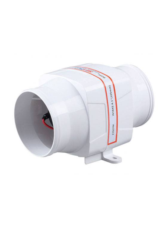 Sea Flo Sea Flo In-line Blower - 270 CFM 12v.