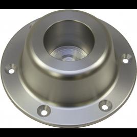 Aluminium Tafelpoot 68,5 cm incusief vloerplaat en tafelbase