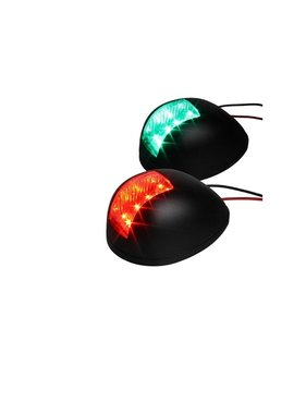 Led Sidelight green/red black colour