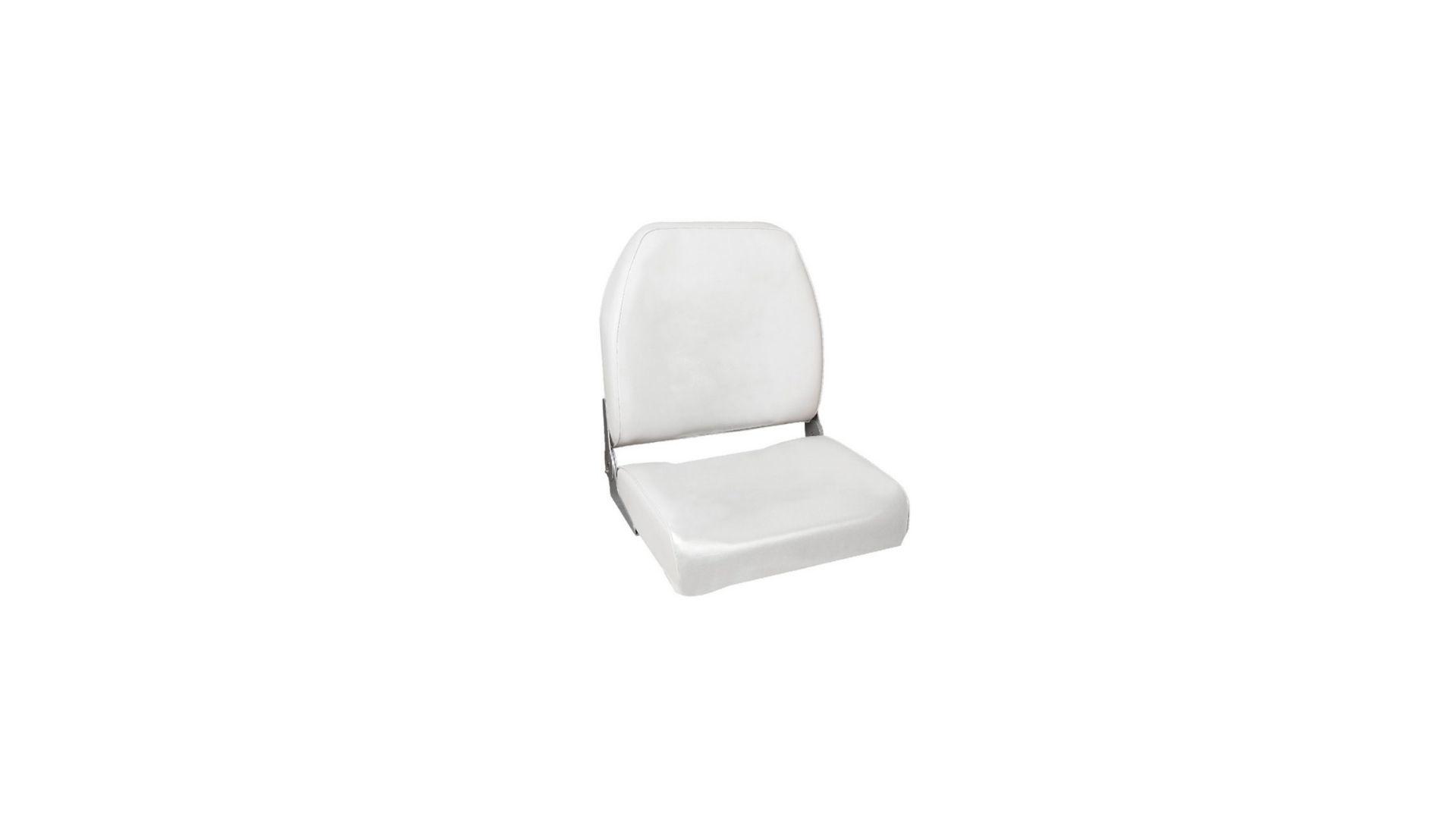 Titan Marine Fishing Seat, White