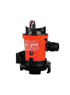 Sea Flo Bilgepump 350 GPH, 12v