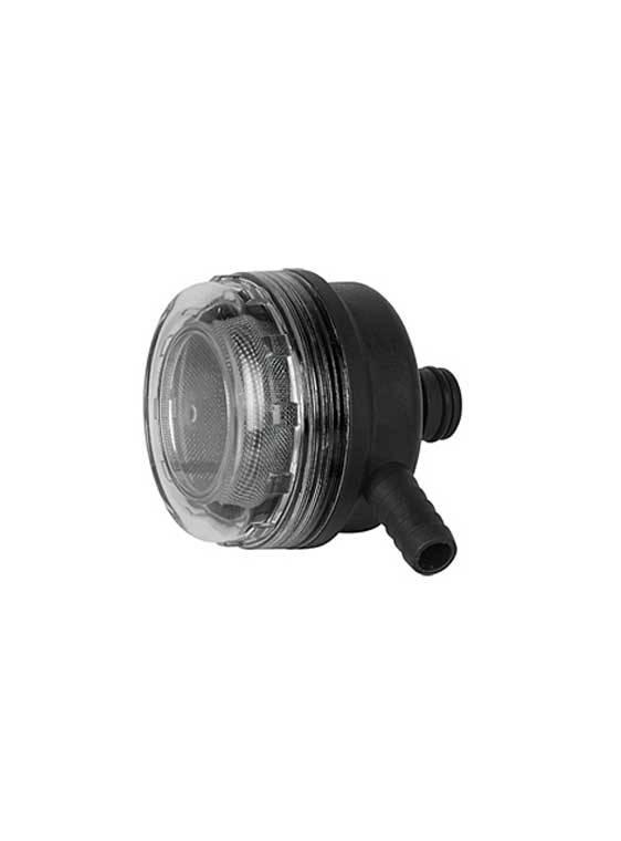 Sea Flo Sea Flo Filter met 90º aansluiting - 1,27 NPT