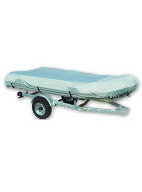 Titan Marine Inflatable boat cover, 600D fabric, Grey. Size 2