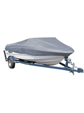 Titan Marine Universal boat cover, Grey, 300D fabric. Size 4