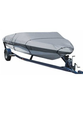 Titan Marine Universal boat cover, Grey, 600D fabric. Size 6