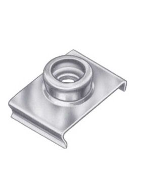 Titan Marine Duurzame punt RVS - Windscherm clip - 22 mm