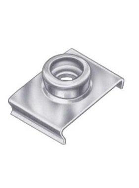 Titan Marine Duurzame punt RVS - Windscherm clip - 19 mm