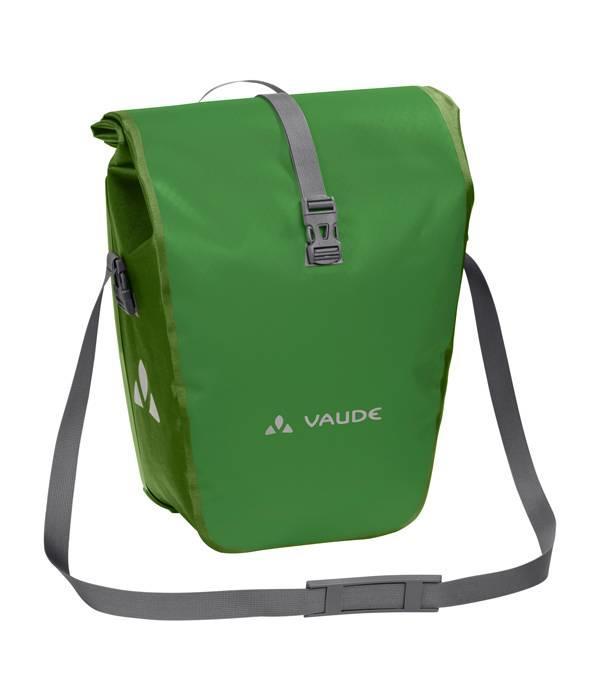 Vaude Aqua Back Single, de ideale fietstas voor op vakantie of in de stad.