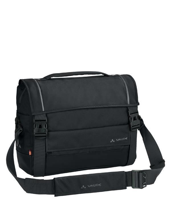 """Vaude Cyclist Briefcase: 15.6"""" laptopfietstas/schoudertas met handvat"""