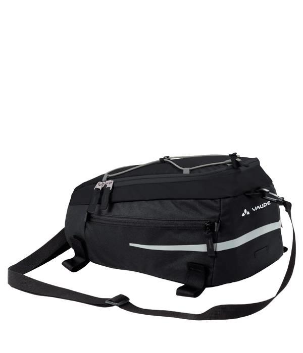 Vaude Silkroad M, Black. 7 liter extra bagage