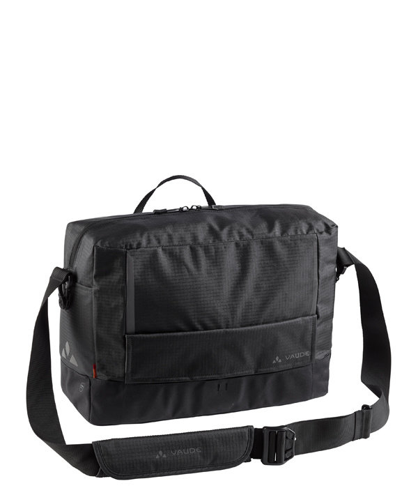 Vaude Cyclist Messenger Waxed L: laptopfiets- en schoudertas