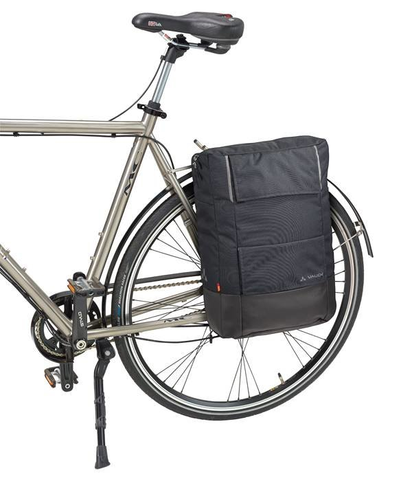 Vaude Cyclist Pack Waxed: Fietstas en ook rugzak