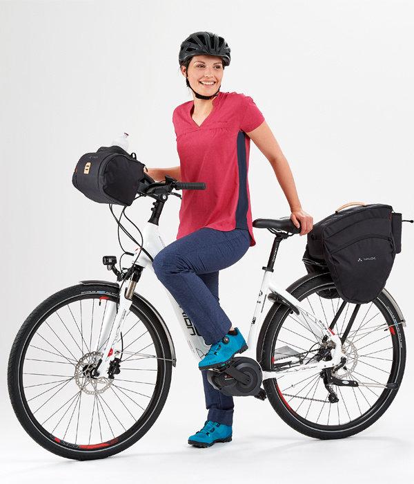 e-Silkroad: Ruime achtertas voor E-bikes