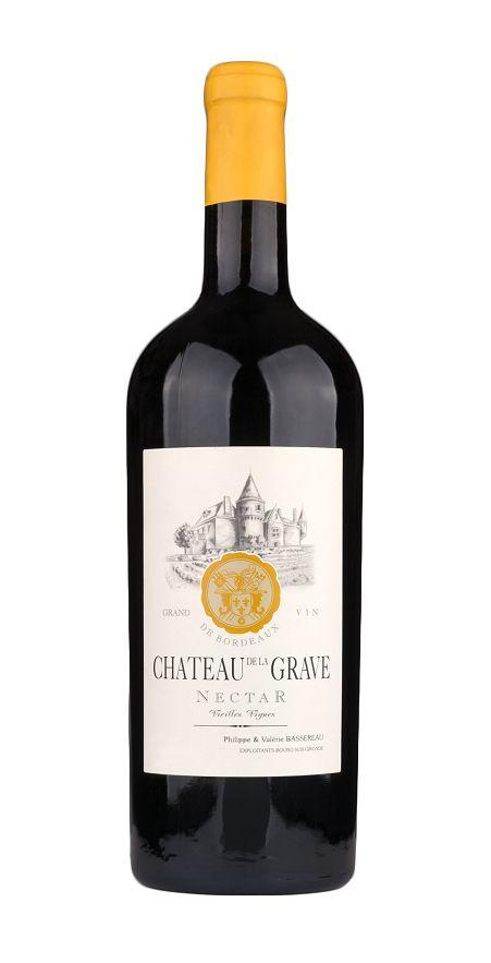 """Grave, Château de la - Bordeaux 2015 Château de la Grave """"Nectar"""", Côtes de Bourg AOP"""