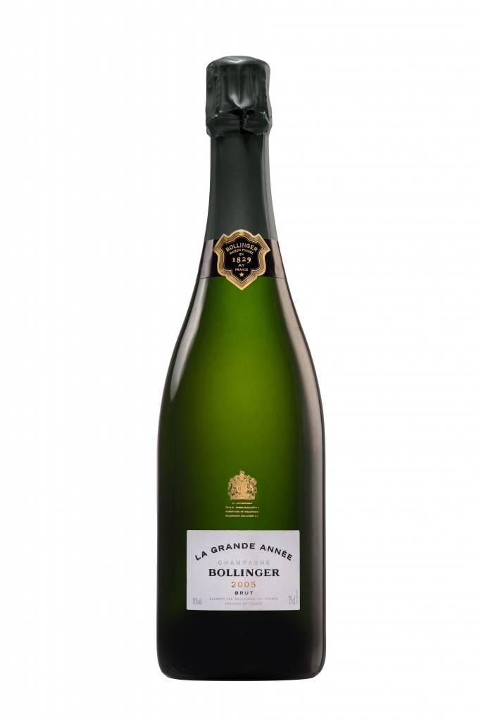 Bollinger, Champagne  2012 Champagne Bollinger Grande Année brut 0,75L wooden box