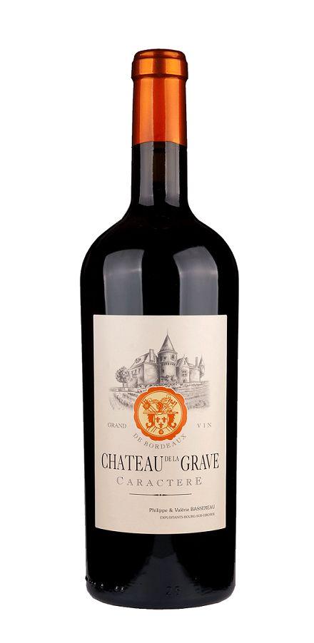 """Grave, Château de la - Bordeaux 2016 Château de la Grave """"Caractere"""", Bourg AOP"""