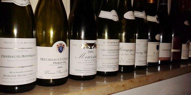 Burgunder Bottleparty