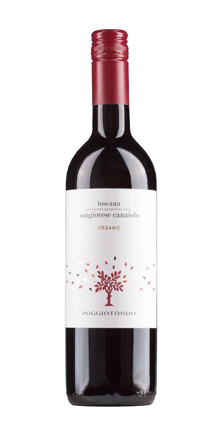Poggiotondo, Toskana 2018 Sangiovese Canaiolo Toscana Rosso IGT, Poggiotondo