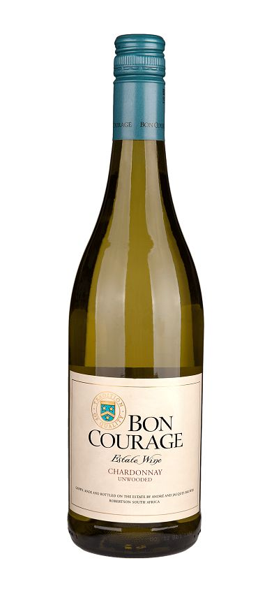 Bon Courage, Südafrika 2019 Chardonnay unwooded, Bon Courage Estate, Robertson
