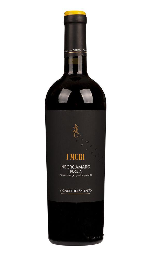 Farnese, Mittel- & Süditalien 2019 Negroamaro I Muri Puglia IGP, Vigneti di Salento