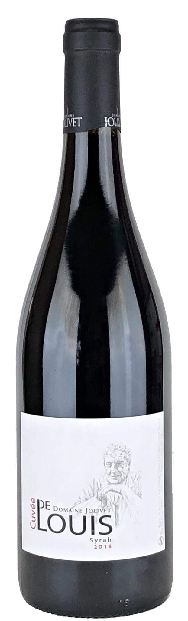 Jolivet, Bastien - Rhône 2018 La Cuvée de Louis rouge, Vin de France, Bastien Jolivet