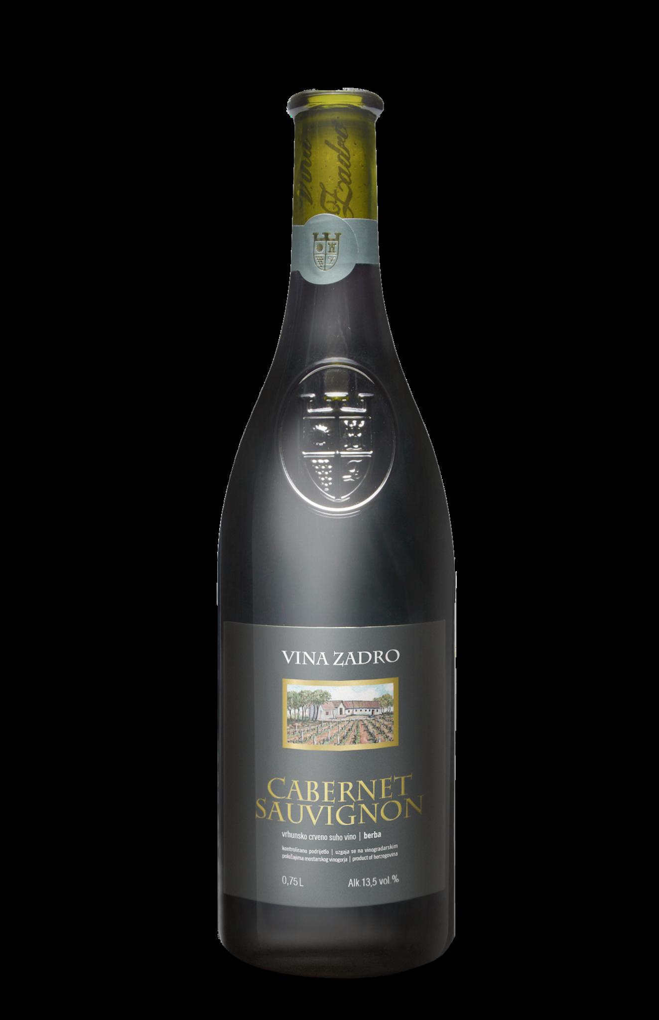 Vina Zadro, Herzegowina 2016 Cabernet Sauvignon vrhunsko vino, Vina Zadro
