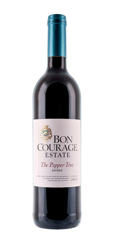 Bon Courage, Südafrika 2018 The Pepper Tree Shiraz, Bon Courage Estate