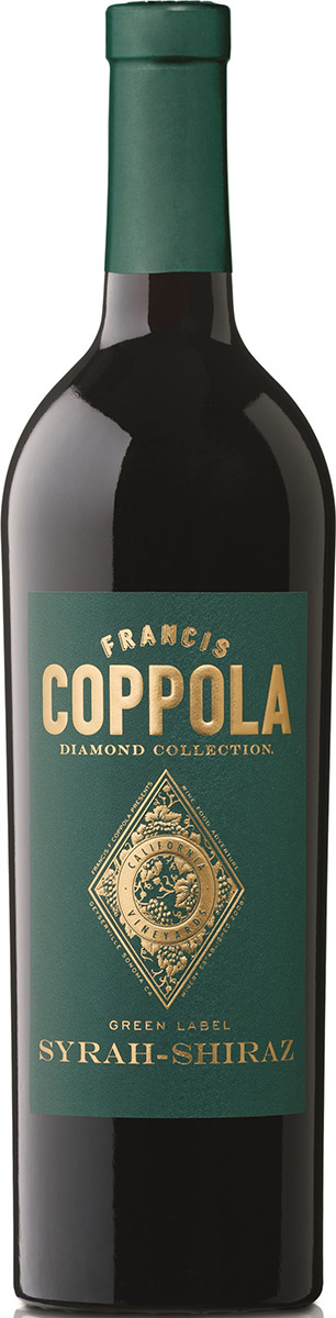 Coppola Winery - Francis Ford, Kalifornien 2016 Syrah - Shiraz Green label Diamond Collection, Coppola Winery