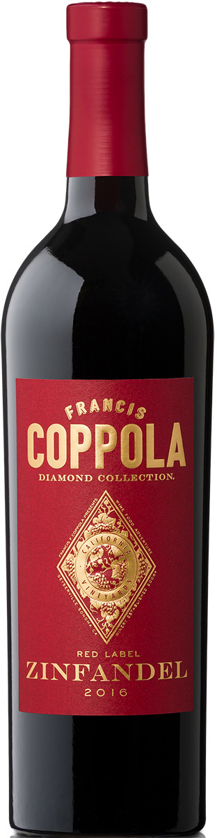 Coppola Winery - Francis Ford, Kalifornien 2016 Zinfandel Diamond Collection, Coppola Winery