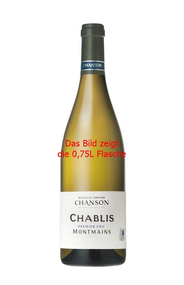 Chanson Père & Fils, Burgund 2018 Chablis 1er Cru Montmains AOC, Chanson 0,375L